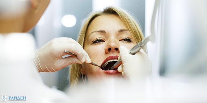 Реставрация отколовшегося зуба в СПб