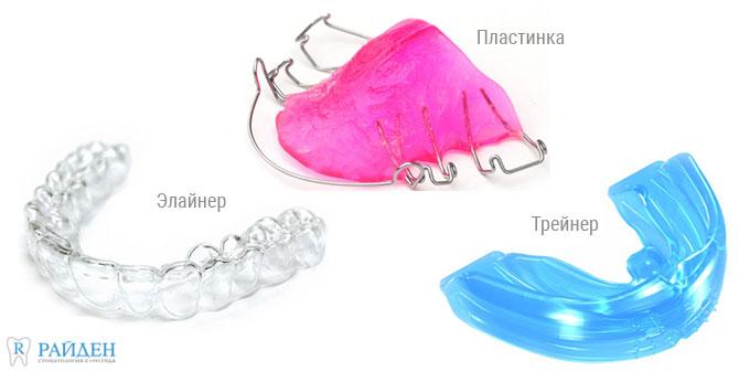Ортодонтическое лечение съемным аппаратом в СПб
